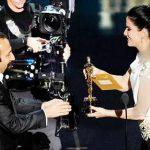 زنی که اصغر فرهادی جایزه اسکارش را از دستان او گرفت،زیباترین زن جهان انتخاب شد + عکس