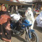 ماجراجویی (مهسا همایون فر) زن موتورسوار ایرانی + عکس