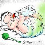بدون شرح عربستان …!/ کاریکاتور