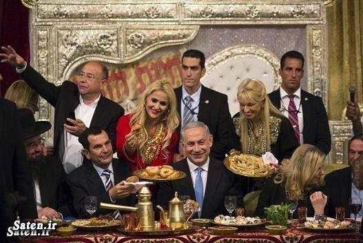 همسر نتانیاهو عکس پارتی مختلط زن نتانیاهو خصوصی نتانیاهو