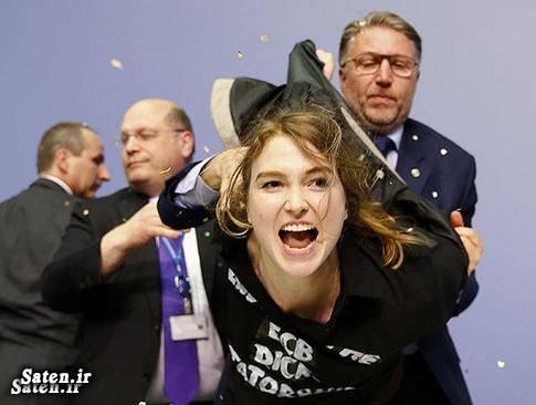 زن آلمانی دختر زیبا دختر اروپایی دختر آلمانی
