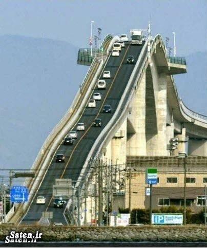 معماری جالب عکس جالب عکس پل زیباترین پل