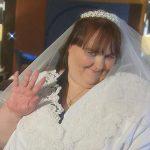 چاق ترین زن دنیا، عروس شد! + عکس