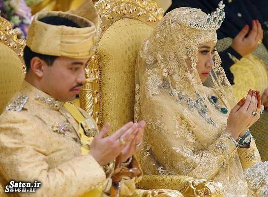 عروسی ثروتمندان عروسی پولدارها عروسی اشرافی سلطان برونئی زیباترین عروس زندگی اشرفی