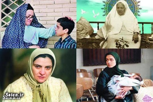 عکس جدید بازیگران بیوگرافی رقیه چهره آزاد بیوگرافی حمیده خیرآبادی بیوگرافی بازیگران