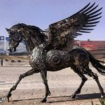 اسب بالدار ایرانی سوژه رسانههای خارجی شد + عکس