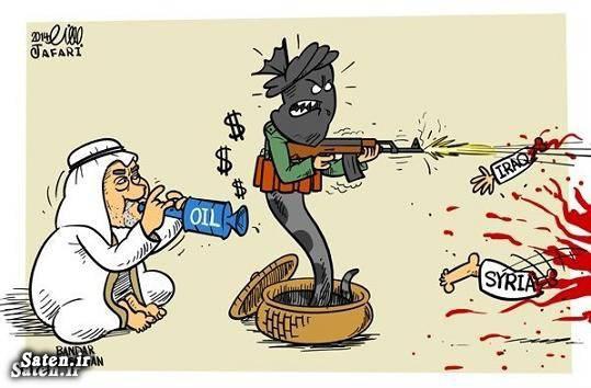 کاریکاتور عربستان قدرت نظامی عربستان جنایات عربستان تجاوز جنسی در عربستان ایران و عربستان اخبار عربستان