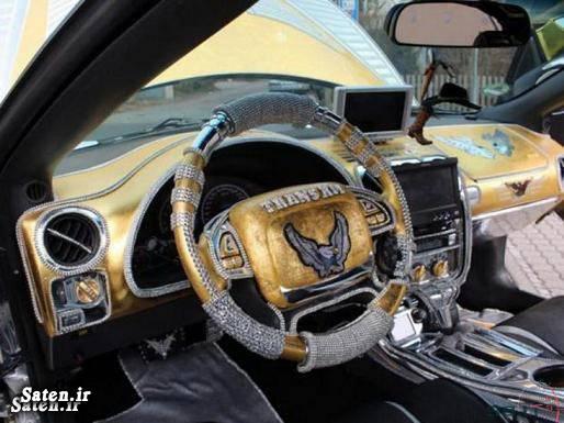 لوکس ترین خودرو گرانترین ماشین دنیا قیمت پونتیاک صاحب گرانترین خودرو Gold Pontiac Trans Am