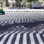 ذوب شدن آسفالت خیابان های هند / تعداد قربانیان گرمای هند به ۱۱۰۰ نفر رسید
