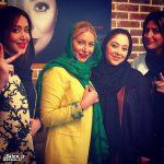 هلیا امامی ، سارا منجزی پور و فریبا نادری در سالن آرایش و زیبایی مریم سلطانی + عکس