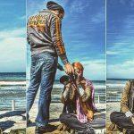 بهرام رادان اولین کسی که مامان شدن مهناز افشار را تبریک گفت! + عکس