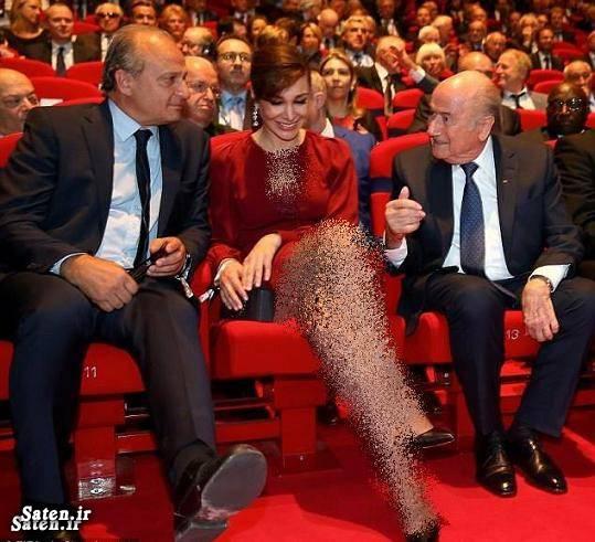 همسر سپ بلاتر سپ بلاتر Sepp Blatter Linda Barras