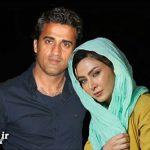 ازدواج فقیهه سلطانی بازیگر ایرانی با یکی از بازیکنان فوتبال + عکس