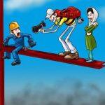 گرامیداشت ۱۱ اردیبهشت، روز کارگر / کاریکاتور