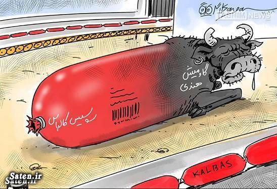 محتویات سوسیس کاریکاتور وزارت بهداشت سوسیس و کالباس سوسیس خوک