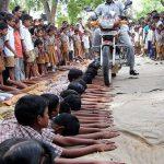 وحشتناک ترین تنبیه دانش آموزان در دنیا + عکس