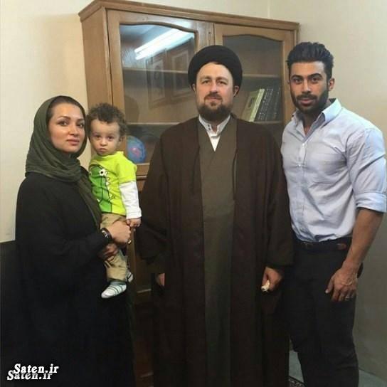 همسر روناک یونسی خانواده حسن خمینی بیوگرافی روناک یونسی بیوگرافی حسن خمینی