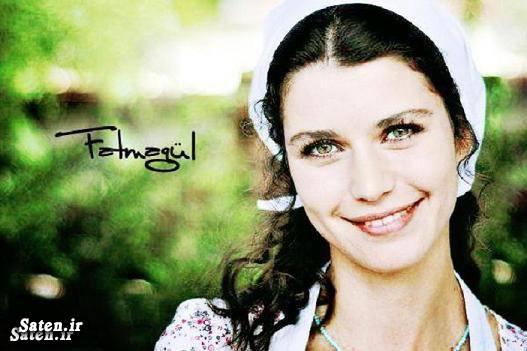 همسر فاطما گل سیدضیاءالدین دری سریال ترکی