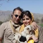 بیوگرافی حمیدرضا آذرنگ و همسرش ساناز بایان + عکس جدید