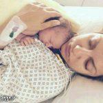 دختر مهناز افشار در آغوش مادر! + عکس