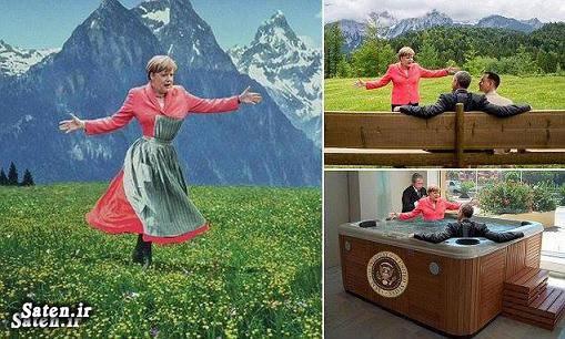 همسر باراک اوباما همسر آنگلا مرکل زن باراک اوباما بیوگرافی باراک اوباما بیوگرافی آنگلا مرکل باراک اوباما