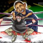 کمک میلیارد دلاری سیا به تروریستها / کاریکاتور