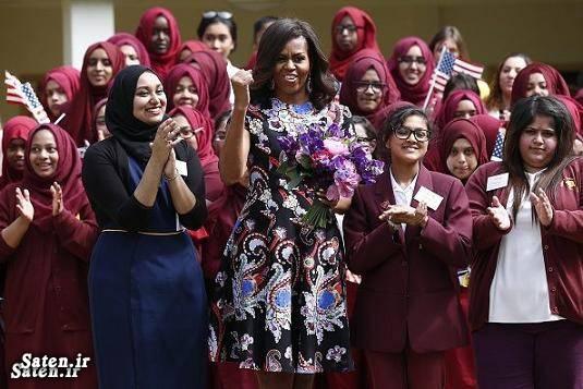 همسر رئیس جمهور همسر باراک اوباما دختر باراک اوباما خانواده رئیس جمهور خانواده باراک اوباما