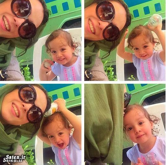 عکس از ترانه علیدوستی و دخترش