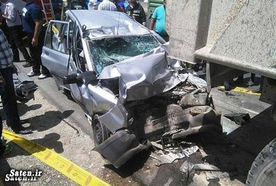 تصادف خودرو تصادف پراید اخبار تصادف