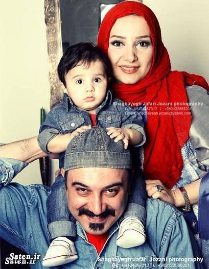 چند حرف درگوشی با برزو ارجمند و همسرش پارمیس زند + عکس