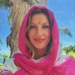 """سو استفاده عجیب """"ژیزل بوندشن"""" مانکن سرشناس از حجاب اسلامی!! + عکس"""