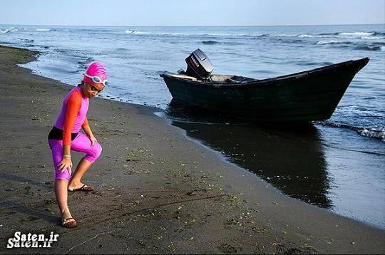 عکس شنا زن عکس شنا دختران رکوردهای گینس