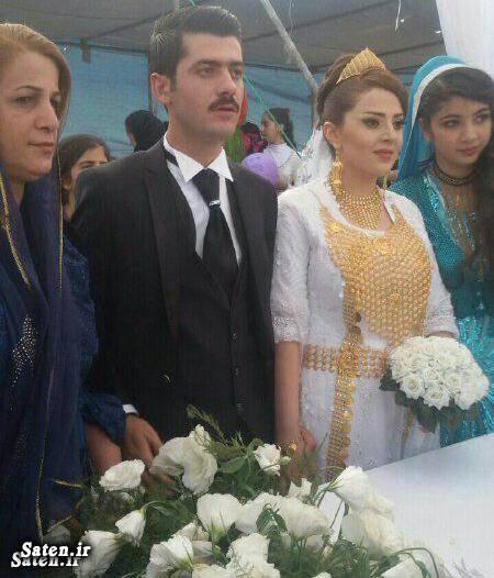 لباس عروس زیبا عکس عروسی عروس کردی دختر کردی