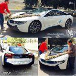 ماشین عروس میلیاردی در تهران+عکس