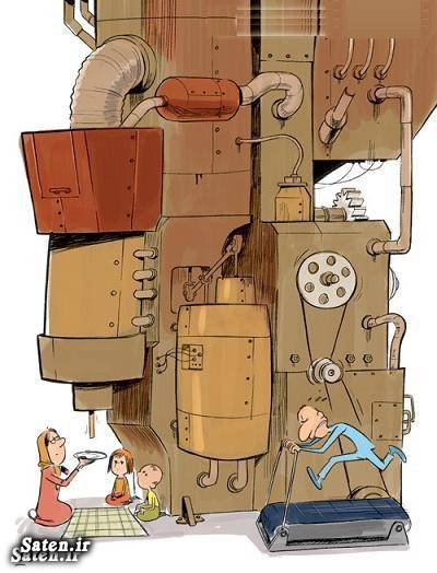 کاریکاتور حقوق کارگران کاریکاتور اشتغال