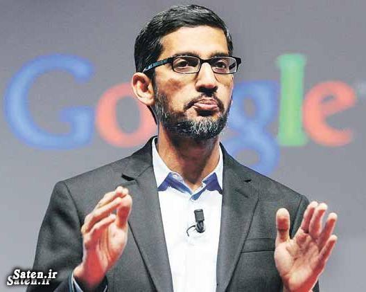 رئیس گوگل بیوگرافی ساندار پیچای بیوگرافی ساتیا نادلا آلفابت Sundar Pichai