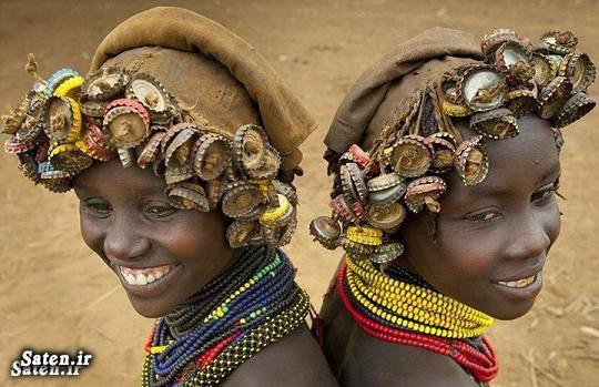 مدل مو دختر مدل مو زیباترین مدل موی زن دختر آفریقایی