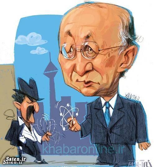 کاریکاتور هسته ای
