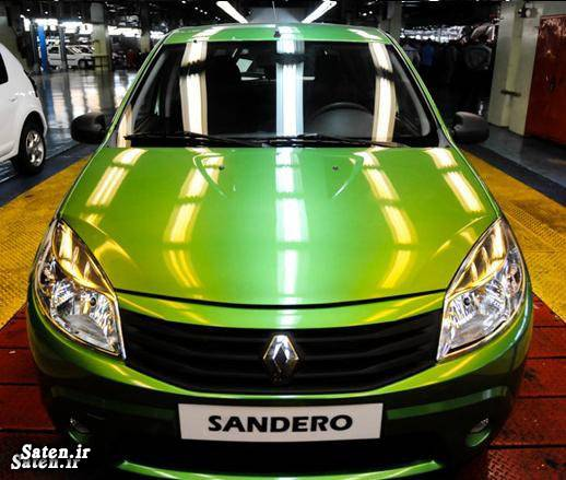 هاچ بک اسپرت مشخصات ساندرو قیمت رنو ساندرو Renault Sandero