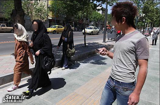 مزاحمت برای دختران مزاحم نوامیس مزاحم زنان متلک پرانی