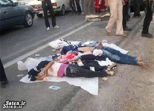 عکس تصادف مرگبار عامل تصادف تصادف مرگبار اخبار تصادف