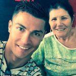 سلفی کریس رونالدو و مادرش + عکس