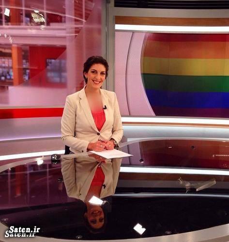 ثریا لواسانی، مجری ایرانی خبر شبکه ۴ تلویزیون سوئد + عکس
