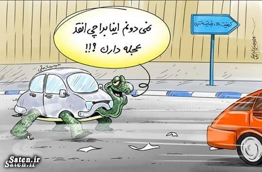 کاریکاتور کیفیت خودرو کاریکاتور خودروسازان کاریکاتور حقوق مصرف کننده