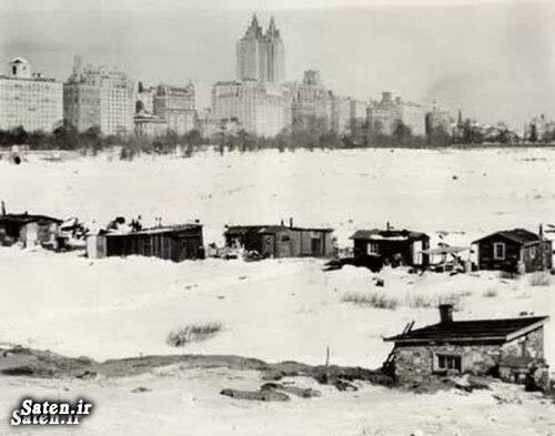 منهتن نیویورک مردم قدیم عکس قدیمی سفر به نیویورک زندگی در آمریکا