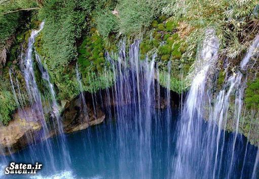 مناطق گردشگری ایران توریستی ایران توریستی اصفهان اخبار سمیرم آبشار آب ملخ