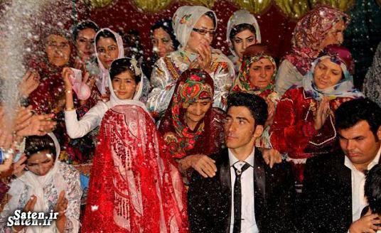 عکس عروسی عروسی زیبا دختر عشایر