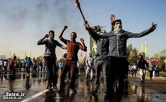 یگان ویژه ناجا عکس اغتشاش اغتشاشات خیابانی اغتشاش در تهران