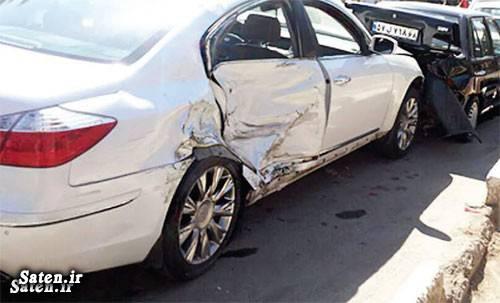 عکس تصادف حوادث واقعی حوادث کرج اخبار کرج اخبار تصادف