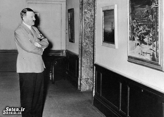 نقاشی هیتلر بیوگرافی هیتلر